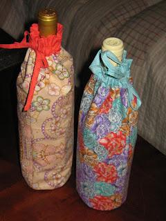 Wine bottle bags.