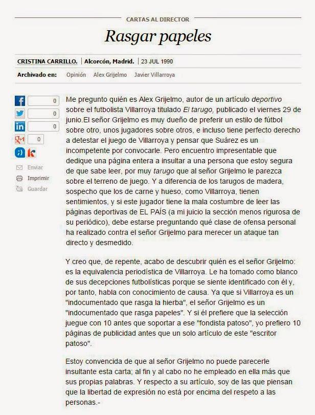 Álex Grijelmo, En qué estaría yo pensando, libro errores El País, periodistas