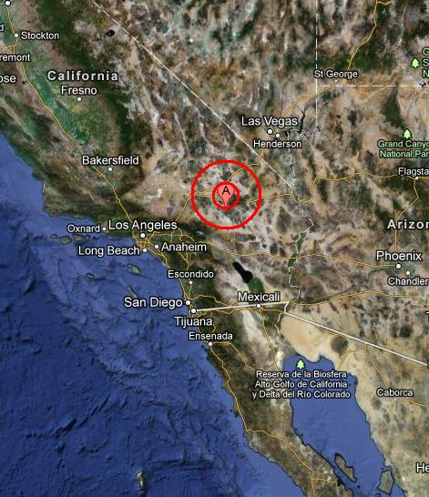 SOUTHERN CALIFORNIA earthquake 2012 November 02