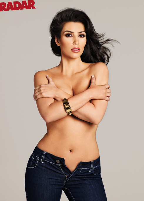 Fashion And Styles Kim Kardashian No Clothes