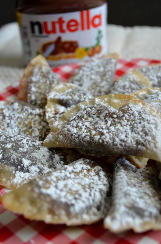 For the Love of Dessert: Baked Nutella Ravioli