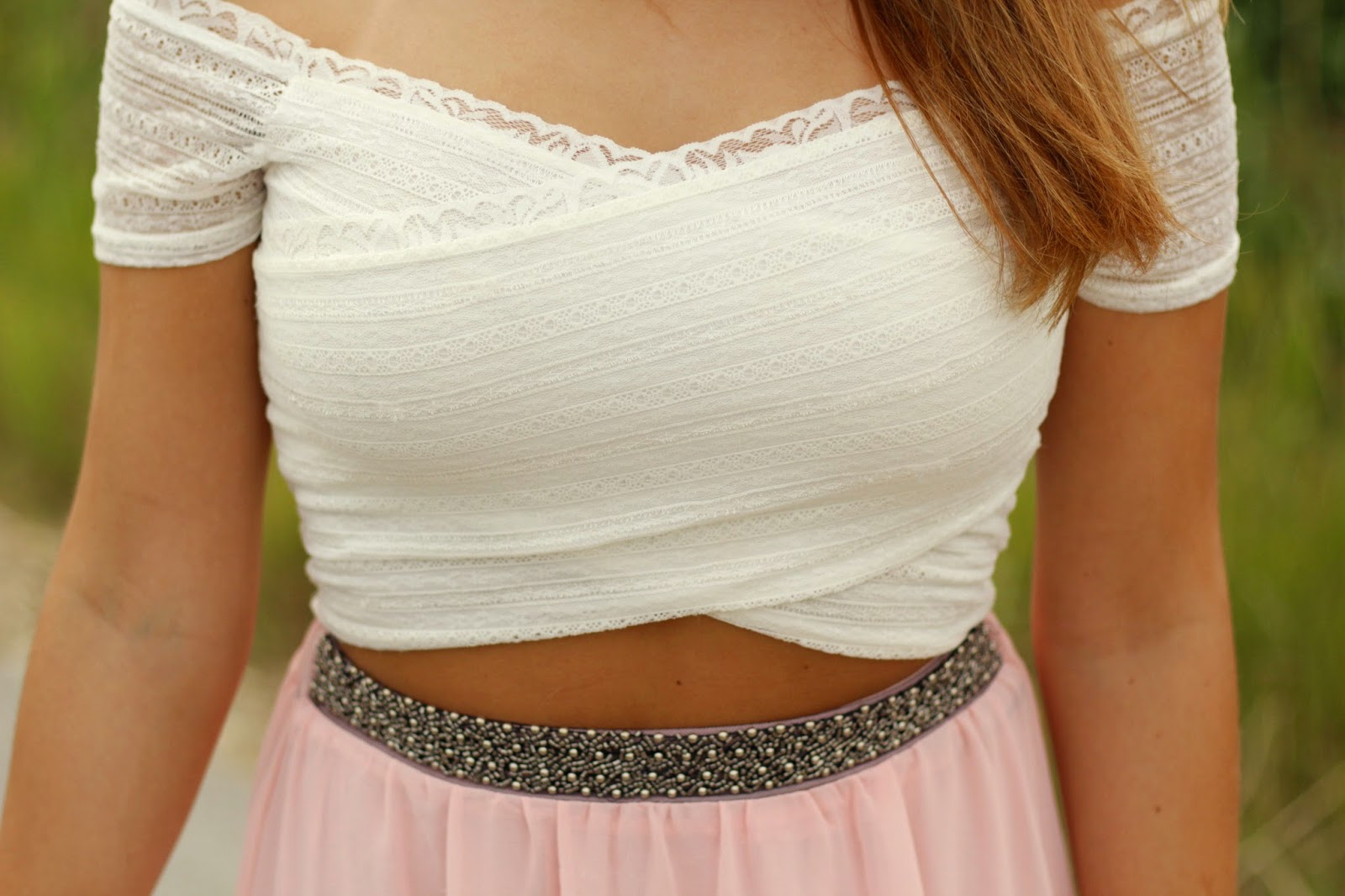 crop top renda