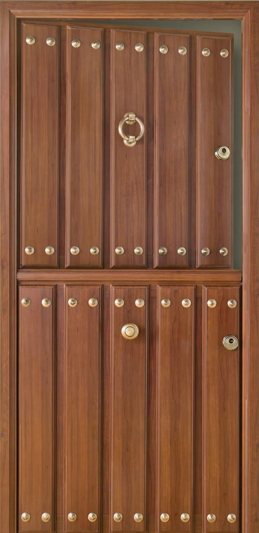 Puertas r sticas en aluminio asturias partida - Puertas exterior asturias ...