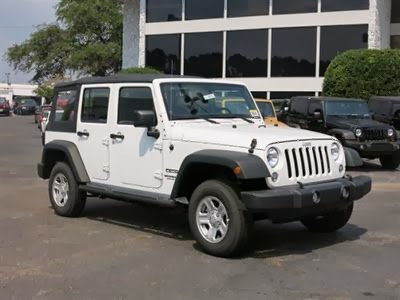2014 Wrangler Unlimited Sport Bright White Colors