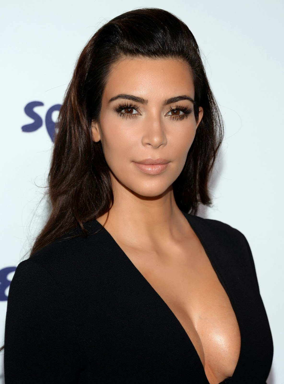 Kim Kardashian at the 2014 NBCUniversal Upfronts