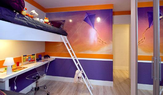 Sala De Estar Violetta ~  Villa Pano Organização de quarto de adolescente (10 a 14 anos