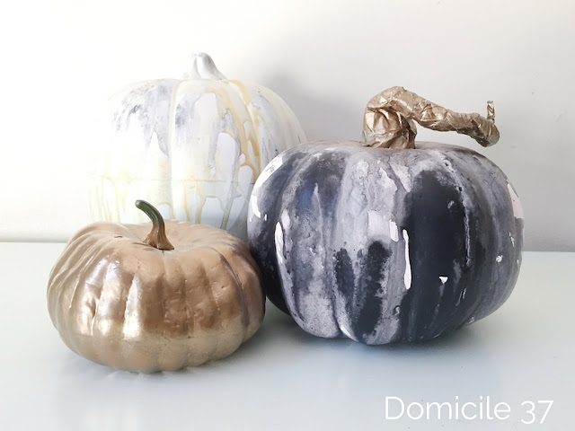 A short and easy tutorial on how to create watercolor pumpkins