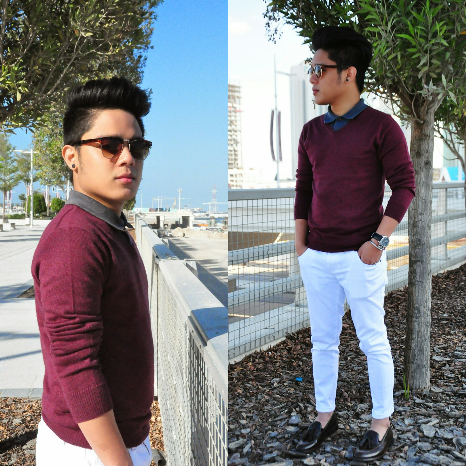 My Mind Rules!: Styling White Pants!