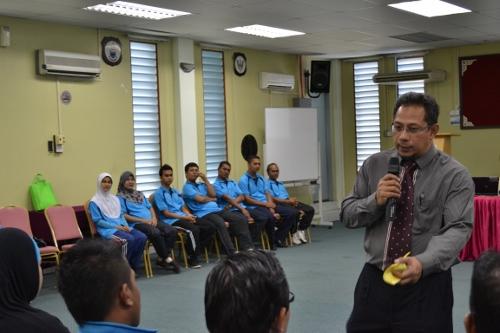 Seronok melihat gelagat peserta kursus Budaya Korporat anjuran PKD