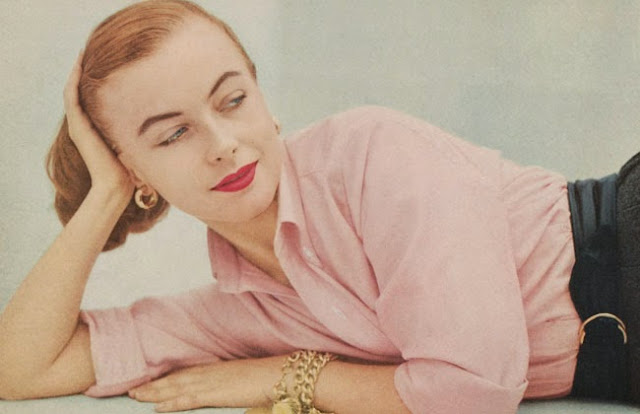 Brooks Brothers Vogue Magazine  1949 the pink tailored shirt