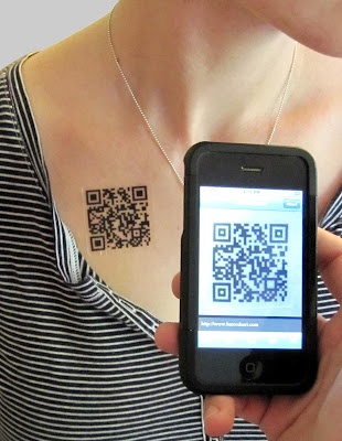 Cool QR Code Inspired Products and Designs (15) 6