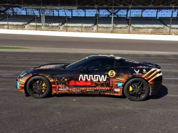 Military News - Paralyzed driver aims for Indy breakthrough