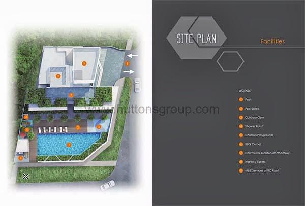 Ascent @ 456 Siteplan