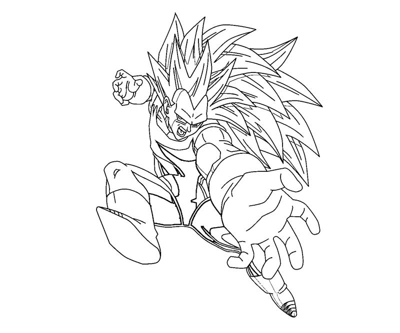Vegeta 10 coloring crafty teenager for Vegeta coloring pages