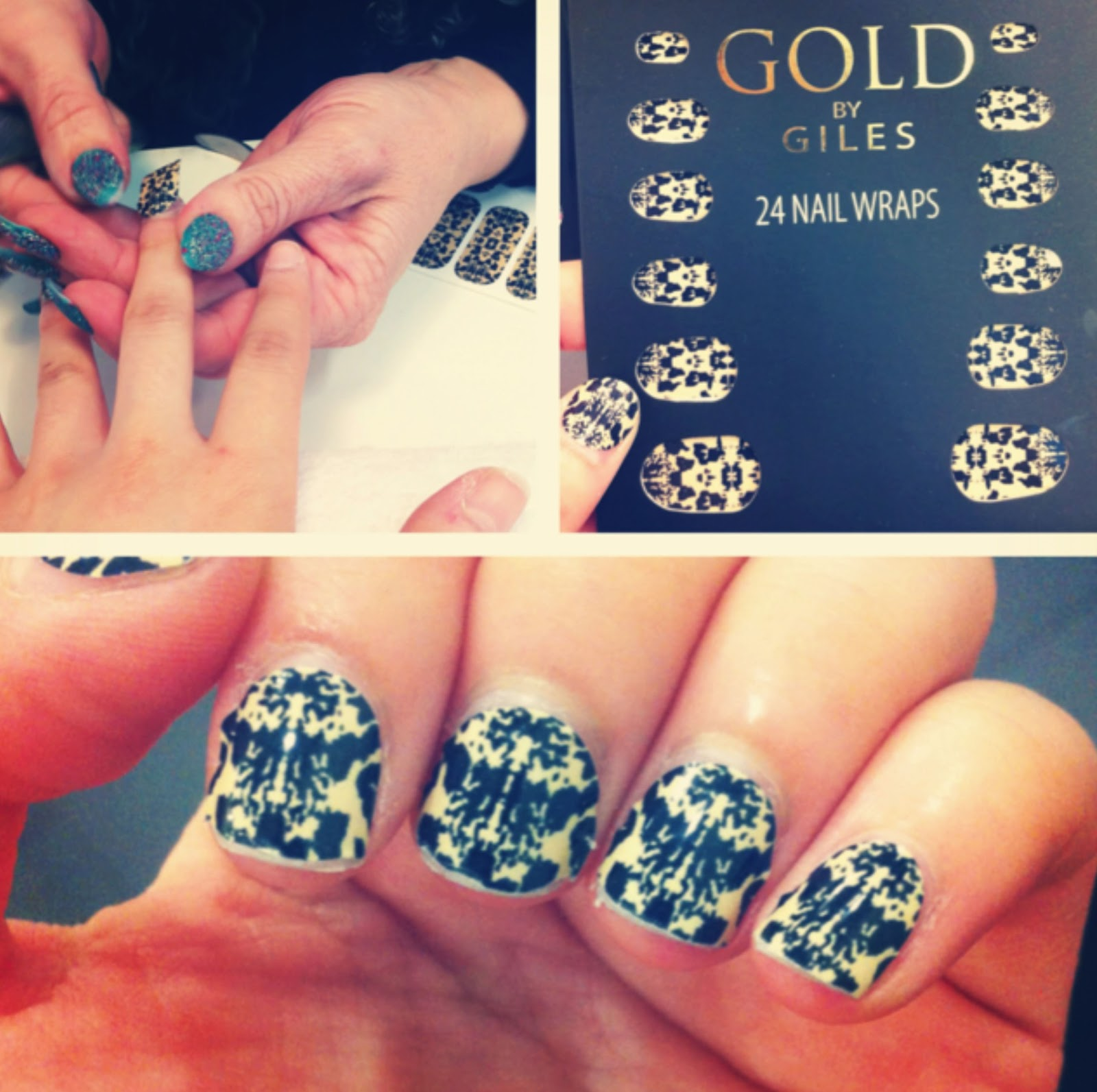 Nail Hart: Guest Post by Si Tuong - Giles for New Look Nail Wraps