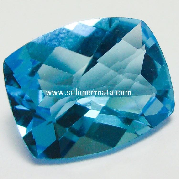 Batu Permata Blue Topaz - 25A02