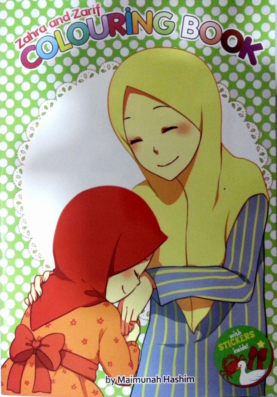 3 Colouring Book With Sticker