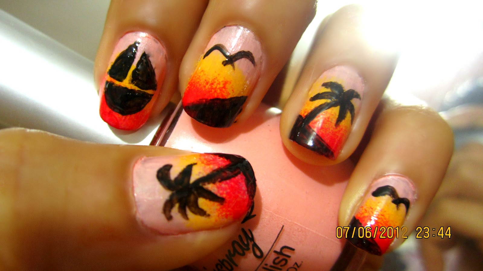 The Appealing Awesome easy to do nail design 2015 Images