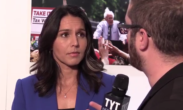 Tulsi Gabbard - Veteran of two Iraq tours.