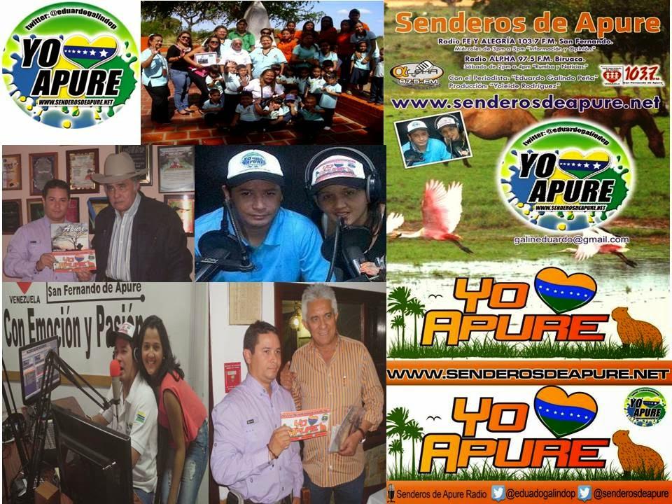 Senderos de Apure Radio cumple 3 años y la Web de Senderos de Apure.com a Senderos de Apure.net un año con más de 800mil visitas.