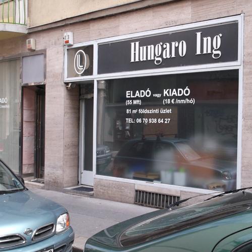 Zárva - végleg bezárt. Hungaro Ing férfi ing szaküzlet a belvárosban - férfi divat ing divatszaküzlet