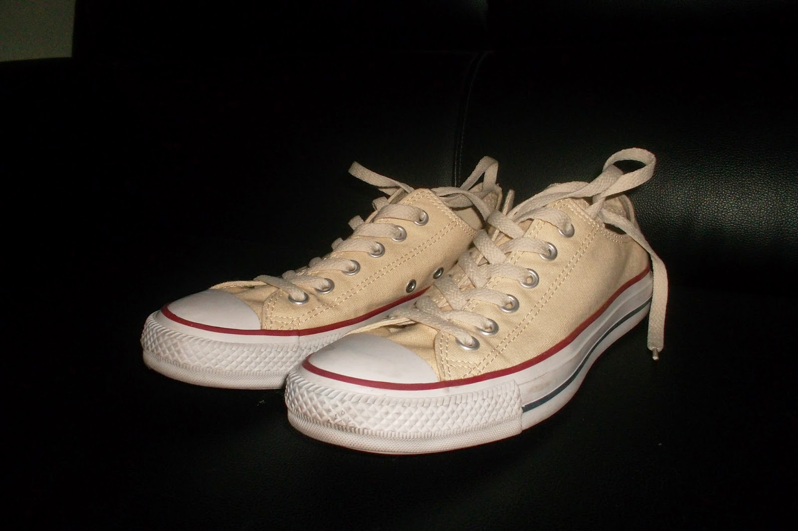 how to make converse shoes wider