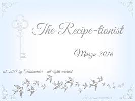Le vostre ricette di Marzo 2016