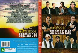 DVD Grande Clássicos Sertanejo (2015)
