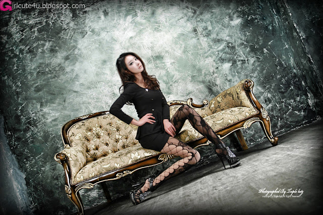 2 Hot Black - Park Hyun Sun-very cute asian girl-girlcute4u.blogspot.com