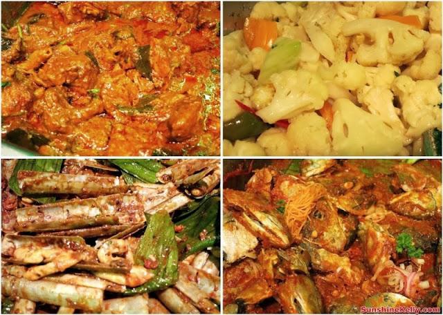 Bali Hai Seafood Village Kota Damasara, food, seafood restaurant, bali hai, ramadan buffet, balinese food, curry chicken, mixed vegetable, bamboo clams, kam heong lala, vietnamese sauce fish, vietnam