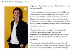 Entrevista La Nación, Argentina