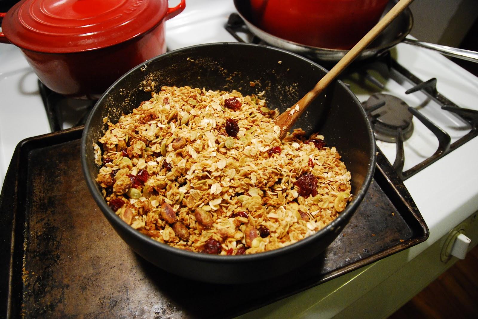 New York City Family: Eleven Madison Park's Granola Recipe ...