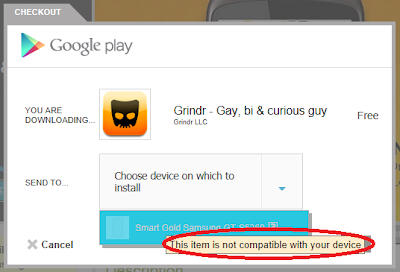 grindr 1.8.2 apk unsupported not compatible device galaxy y download