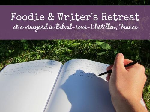 Foodie & Writer's Retreat