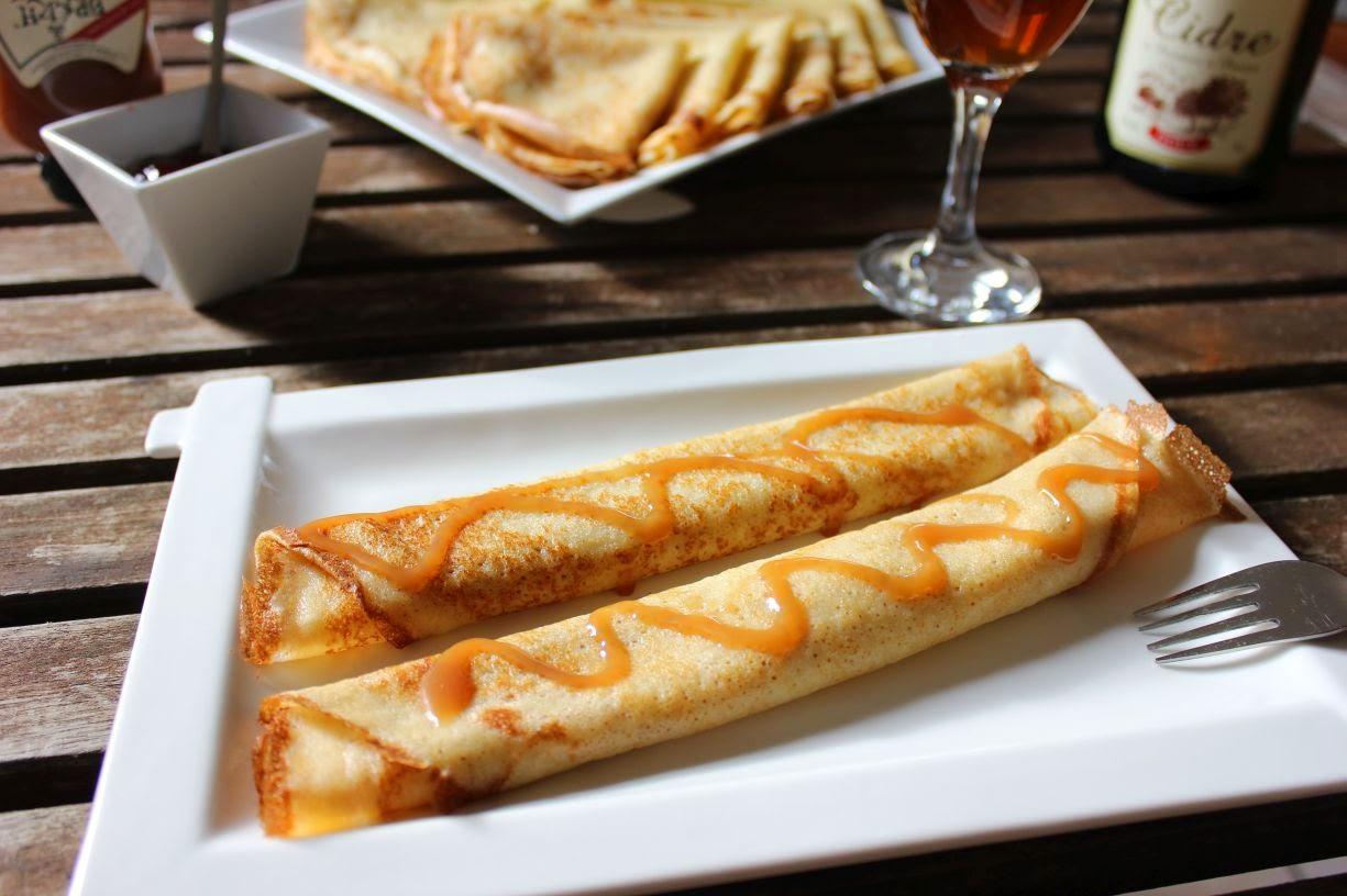 Pâte à crêpes aromatisée au rhum
