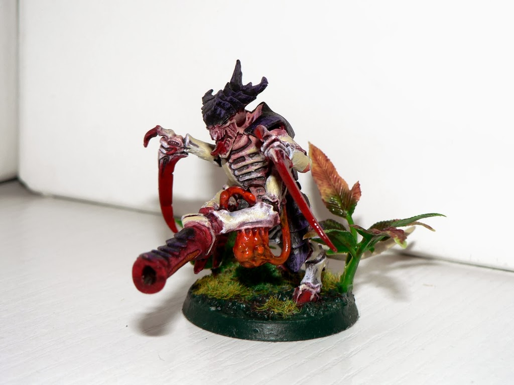 Tyranid Warriors Leviathan Barbed Strangler