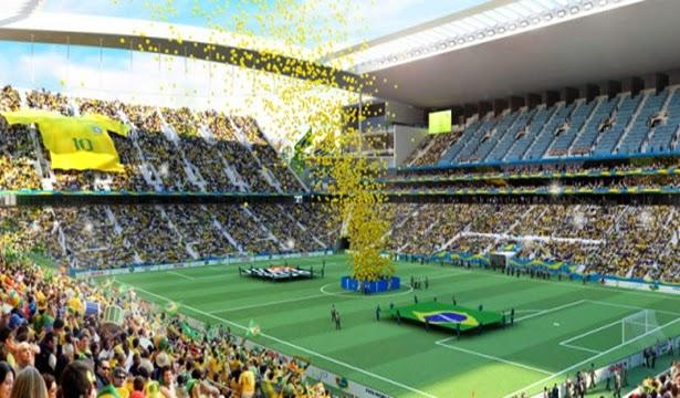 Encerramento da Copa 2014 no Brasil - Um Asno