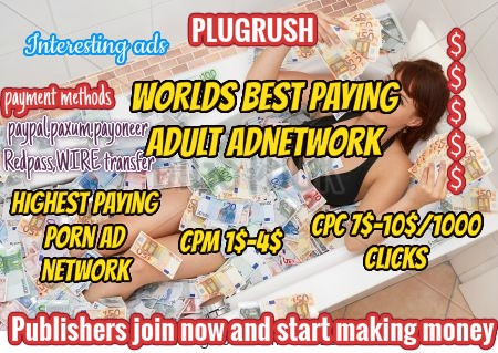 Plugrush Adult ad network