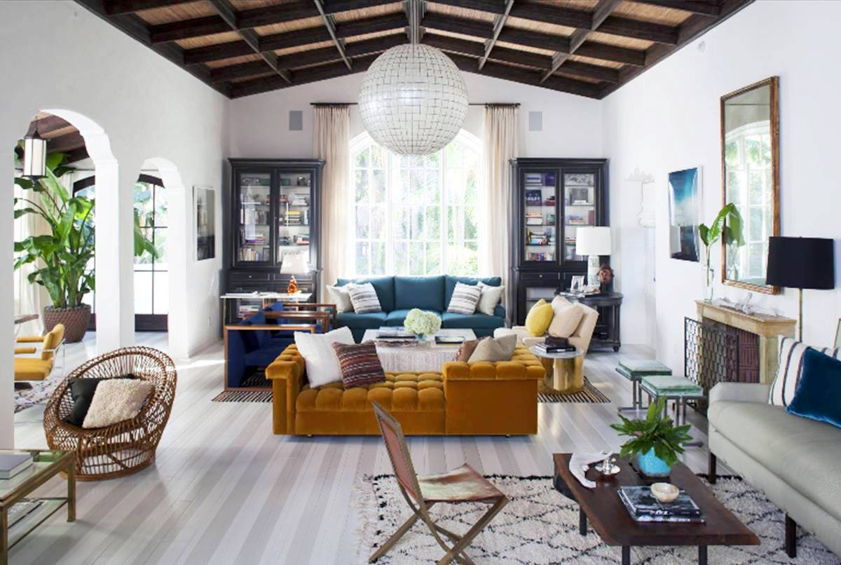 Cococozy coveting a home in the hollywood hills for Floor and decor california