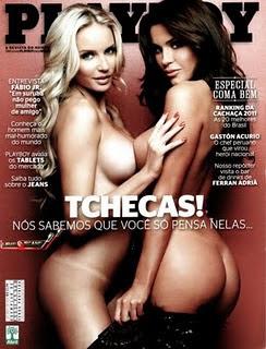 Revista Playboy Tchecas (Panico na TV) Julho 2011