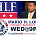 WED@9PM - Hispanic Leadership Fund's Mario H. Lopez!