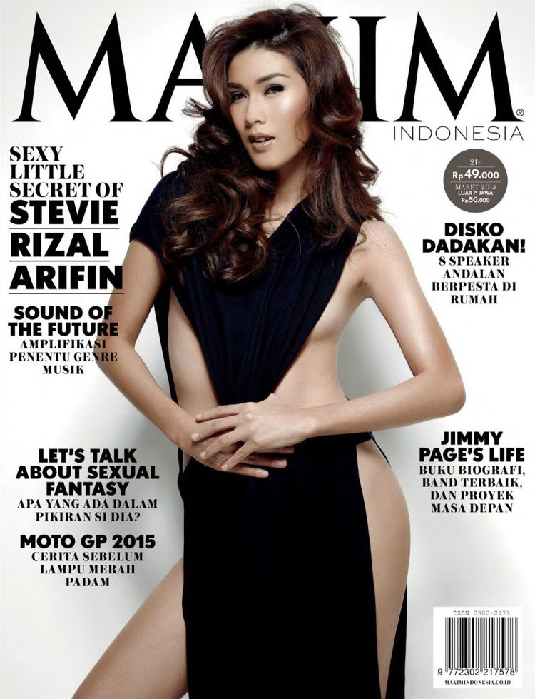 Model @ Stevie Rizal Arifin - Maxim Indonesia, March 2015