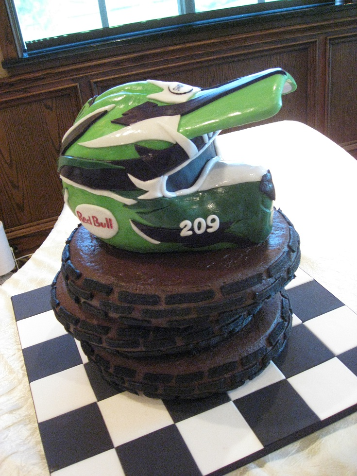 dirt bike cake - photo #19