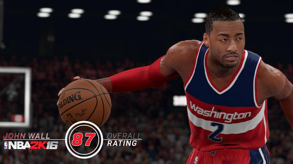 NBA 2k16 : John Wall Rating