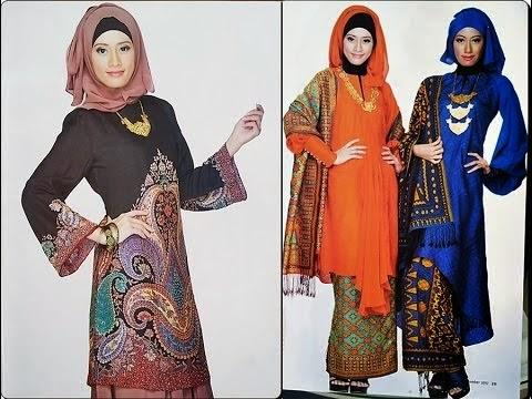 Model baju muslim wanita terbaru lagi trend
