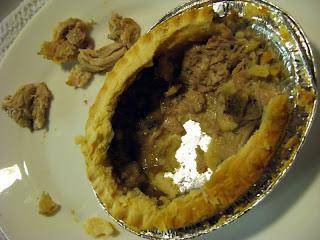 genius chicken mushroom pie