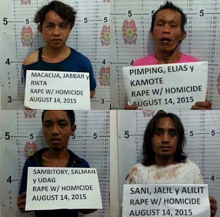 Marawi rape and murder suspects