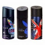 Paytm: Buy Playboy Men Deos Pack Of 3 set and get Rs.100 Cashback at Rs.499