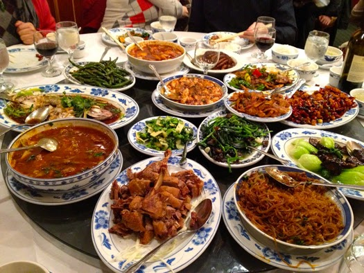 Thekongblog the lazy susan origins of the chinese for Asian cuisine restaurant
