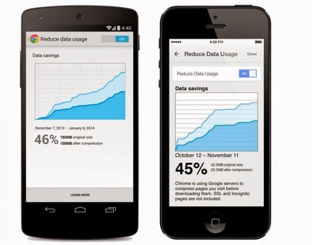 gambar Google Chrome Mobile